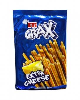 Соломка сырная ETI CRAX Extra Cheese, 45 г
