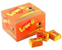 Жевательная резинка LOVE IS Ананас-апельсин, 4,2 г