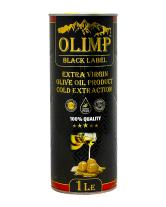 Масло оливковое первого отжима Extra Virgin Olive Oil Gold Extraction OLIMP BLACK LABEL, 1 л