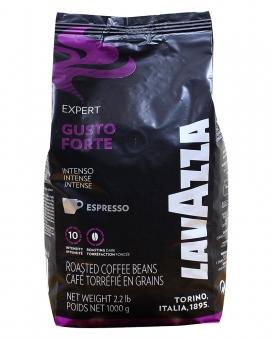 Кофе в зернах Lavazza Gusto Forte Expert, 1 кг (20/80)
