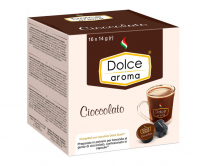 Горячий шоколад в капсулах Dolce Aroma Cioccolato Dolce Gusto, 16 шт