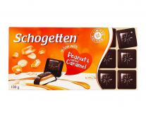 Шоколад Schogetten Peanut&Salted Caramel, 100 г