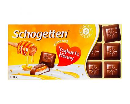 Шоколад Schogetten Yoghurt Honey, 100 г