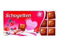 Шоколад Schogetten Cream&Berries, 100 г