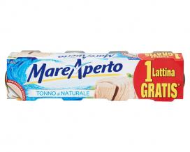 Тунец консервированный натуральный Mare Aperto, 4шт*80г