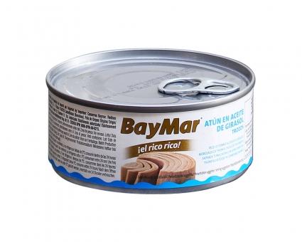 Тунец консервированный в подсолнечном масле BayMar, 160 г