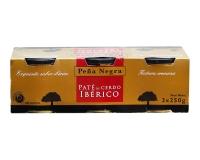 Паштет печеночный свиной иберийский Pena Negro Iberico Pate, 3шт*250г