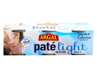 Паштет печеночный свиной низкокалорийный Argal Pate light, 3шт*80г