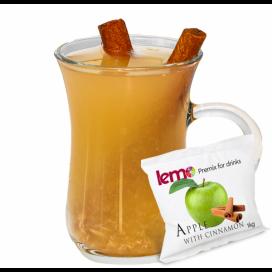 """Пюре фруктовое для чая, коктейлей """"Яблоко-корица"""" LEMO, 45 г (премикс, основа)"""
