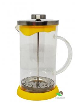 Френч-пресс для чая и кофе с силиконовым дном, 600 мл