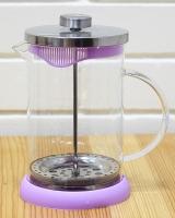 Френч-пресс для чая с сил.дном V800 мл 0707