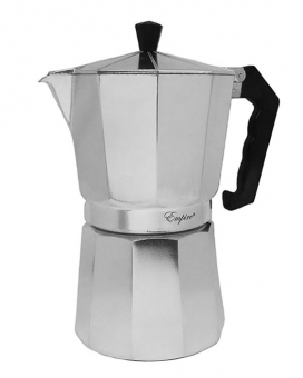 Кофеварка гейзерная алюминиевая, 200 мл