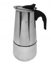 Кофеварка гейзерная нержавеющая, 350 мл