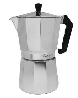 Кофеварка гейзерная алюминиевая, 500 мл