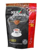 Кофе растворимый Nero Aroma Classico, 200 + 50 г в подарок (30/70)