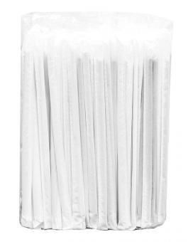 Трубочка черная индивидуально упакованная, d5 мм, 20 см, 100 шт