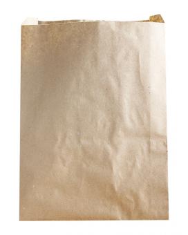 Крафт пакет бумажный 210х250х60 мм, 100 шт