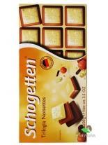 Шоколад Schogetten Trilogia Noisettes, 100 г