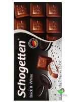 Шоколад Schogetten Black&White, 100 г