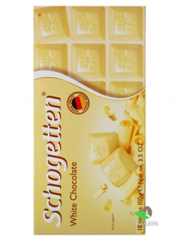 Шоколад Schogetten White Chocolate, 100 г