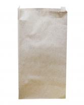 Крафт пакет бумажный 140х270х50 мм, 100 шт