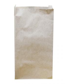 Пакет бумажный 140*270*50 крафт 100шт