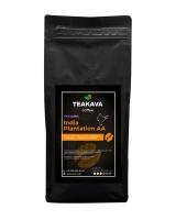 Кофе в зернах Teakava India Plantation AA, 1 кг (моносорт арабики)