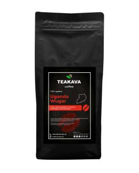 Кофе в зернах Teakava Uganda Wugar, 1 кг (моносорт арабики)