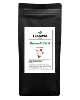 Кофе в зернах Teakava Burundi FW A, 1 кг (моносорт арабики)