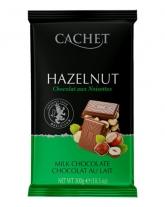 Шоколад Cachet молочный с лесными орехами 32%, 300 г