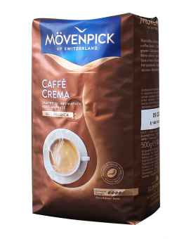 Кофе в зернах Movenpick Caffe Crema, 500 грамм (100% арабика)