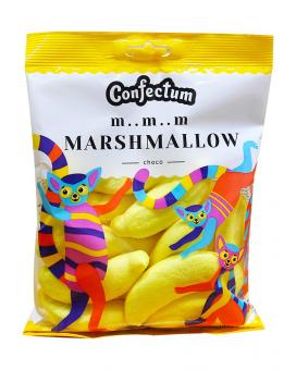"""Зефир Маршмеллоу Бананы с шоколадной начинкой """"Сhoco-bananas"""", 150 г"""