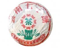 """Чай Шу Пуэр """"Yu Nan Qi Zi Bing"""" (2014 г.), 357 грамм"""