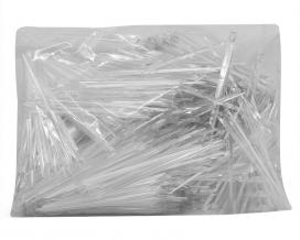 Шпажка Призма прозрачная, 9,5 см, 1000 шт