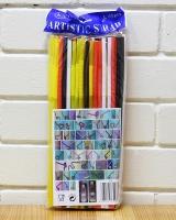 Трубочка Артистик 4 цвета d6, 26см, 100шт