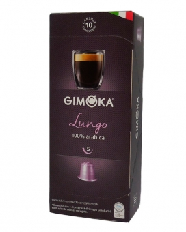 Капсула Gimoka LUNGO Nespresso, 10 шт (100% арабика)