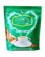 Кофе растворимый Dolce Aroma Gusto Ricco, 400 г