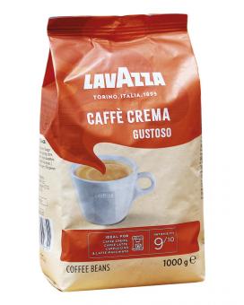 Кофе в зернах Lavazza Caffe Crema Gustoso, 1 кг (70/30)