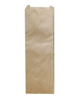 Пакет бумажный 100*230*30 крафт 100шт