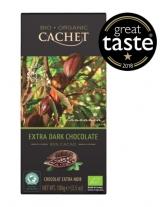 Шоколад Cachet Bio Organic экстра черный 85%, 100 г