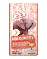Шоколад Cachet черный с марципаном и абрикосом 60%, 180 г