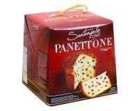 Паска с цукатами апельсина и изюмом Santangelo PANETONE, 908 г