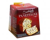 Паска с цукатами апельсина и изюмом Santangelo PANETONE, 500 г