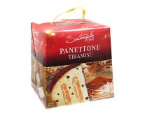 Паска с кремом тирамису и кусочками шоколада Santangelo PANETONE Al Tiramisu, 908 г