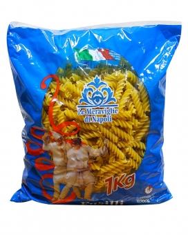 Паста спиральки/фузилли Le Meraviglie Di Napoli Fusilli Pasta, 1 кг