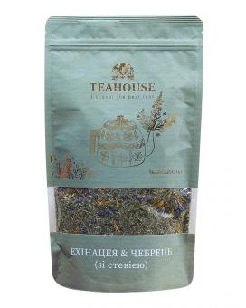 "Чай ""Teahouse"" Эхинацея и чабрец со стевией, 100 г"