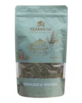 """Чай """"Teahouse"""" Эхинацея и чабрец, 100 г"""