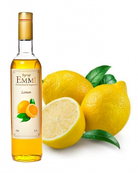 Сироп Emmi Лимон 0,7 л (стеклянная бутылка)