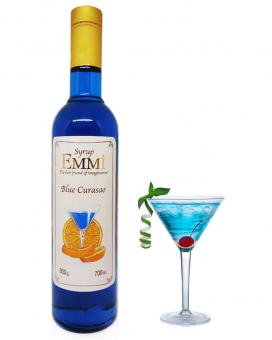 Сироп Emmi Блю кюрасао 0,7 л (стеклянная бутылка)