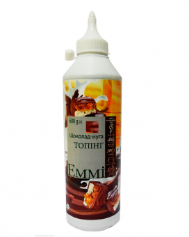 Топпинг Emmi Шоколад-нуга, 600 грамм